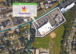 Stop & Shop Plaza: Aerial